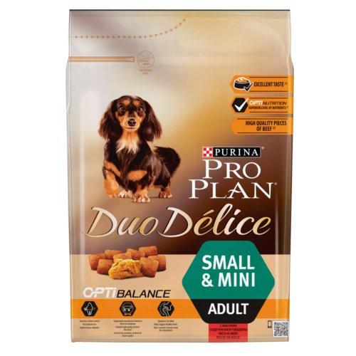 Purina Pro Plan Duo Délice Buey razas pequeñas
