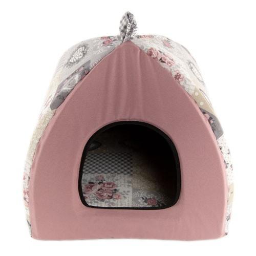 Cama iglú para perros y gatos TK-Pet Sisi
