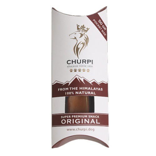 Snack natural con leche de yak Churpi Original Pocket Size