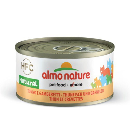 Almo Nature HFC Natural atún y gambas para gatos