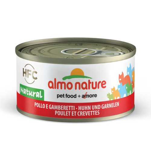 Almo Nature HFC Natural pollo y gambas para gatos