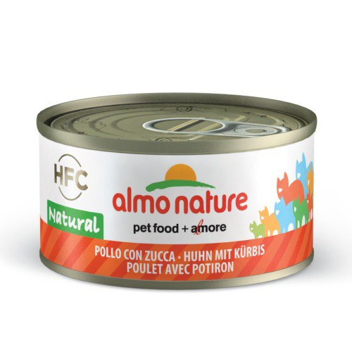 Almo Nature HFC Natural pollo y calabaza para gatos