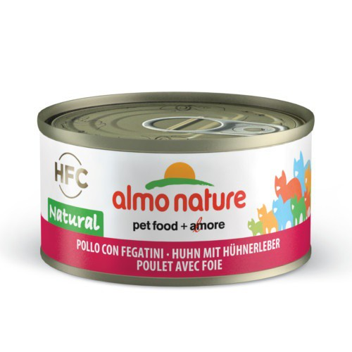 Almo Nature HFC Natural pollo e hígado para gatos