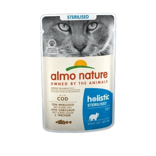 Almo Nature Sterilised bacalao para gatos