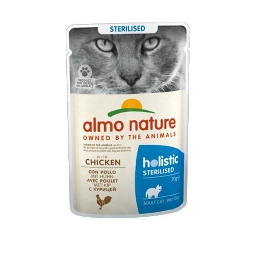 Almo Nature Sterilised pollo para gatos