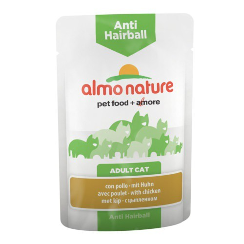 Almo Nature Anti Hairball pollo para gatos