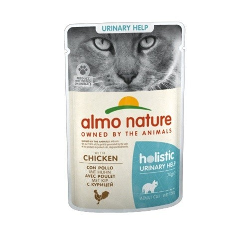 Almo Nature Urinary pollo para gatos