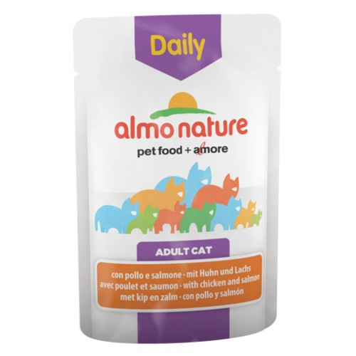 Almo Nature Daily pollo y salmón para gatos