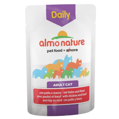 Almo Nature Daily pollo y vacuno para gatos