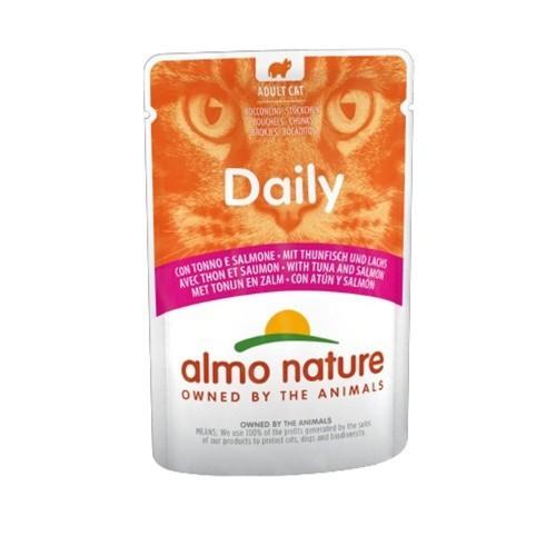 Almo Nature Daily atún y salmón para gatos