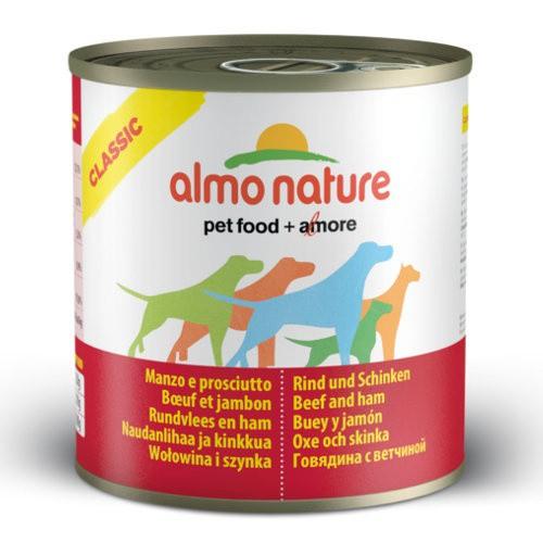 Almo Nature HFC Classic vacuno y jamón para perros
