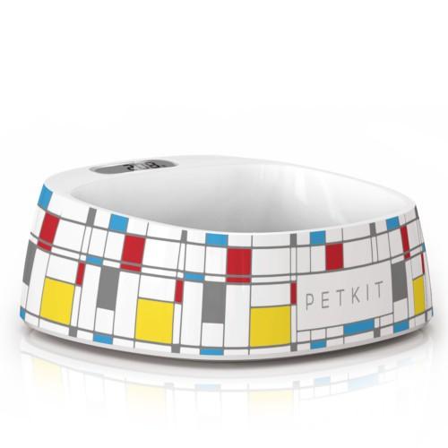 Comedero inteligente Petkit Fresh diseño Mondrian