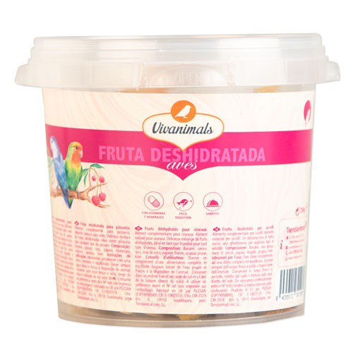 Fruta deshidratada para aves Vivanimals