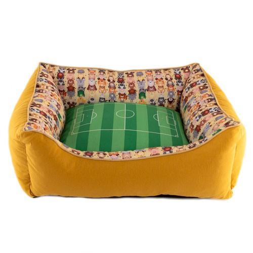 Cuna campo de fútbol TK-Pet Futpet para perros