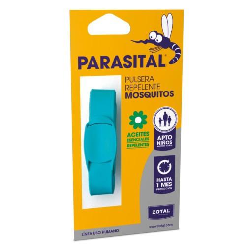 Pulsera repelente de mosquitos Parasital turquesa