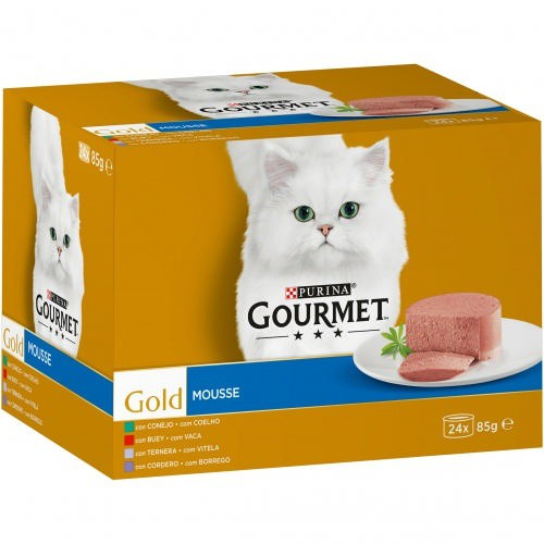 Gourmet Gold Mousse Multipack de carnes