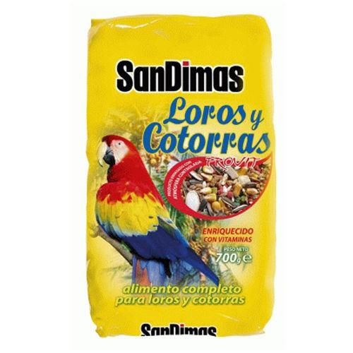 Comida para loros y cotorras SanDimas