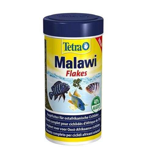 Tetra Malawi alimento en escamas