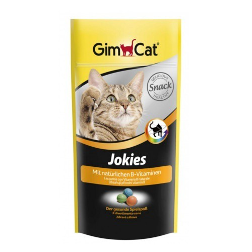 Comprimidos GimCat Jokies para gatos