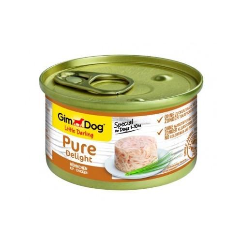 Comida húmeda GimDog Pure Delight pollo