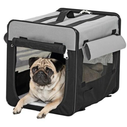 Transportín caseta de tela para perros grandes