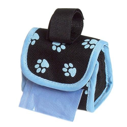 Porta bolsas para cinturón o correa azul