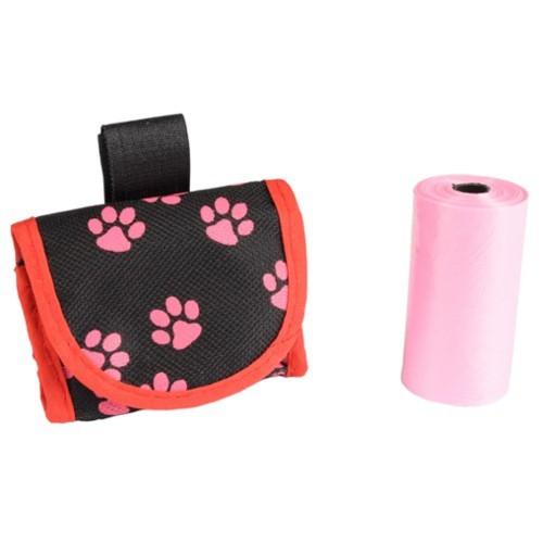 Porta bolsas para cinturón o correa rosa