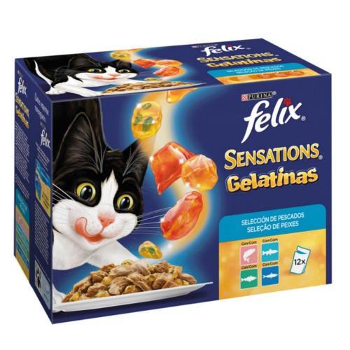 Felix Sensations Gelatinas Multipack pescados