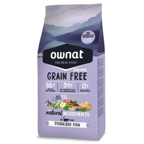 Pienso Ownat Grain Free Sterilized pescado