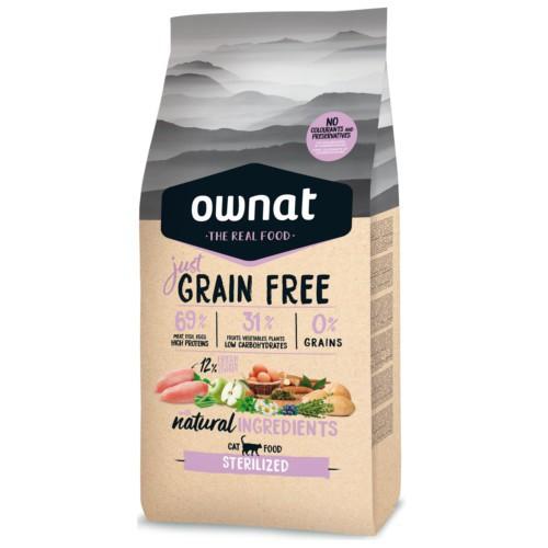 Pienso Ownat Just Grain Free Sterilized
