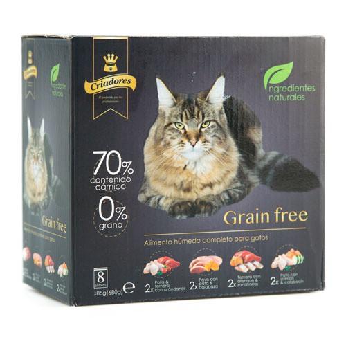 Multipack Criadores Grain Free húmedo