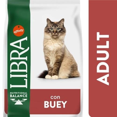 Libra Adult con Buey para Gatos