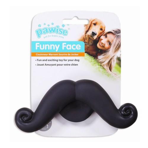 Juguete Bigotes para perros Funny Face