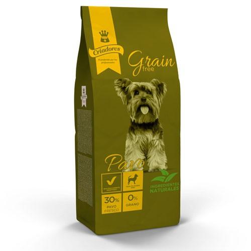 Dog food Criadores Grain Free Turkey breeds mini