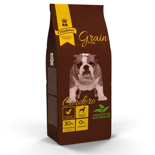 Dog food Criadores Grain Free Lamb medium and large breeds