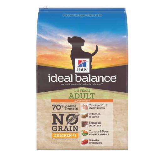 Hill's Ideal Balance Large Breed No Grain pollo & patata