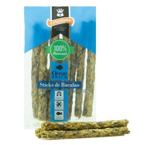 Criadores Ocean Snack Sticks de Bacalao