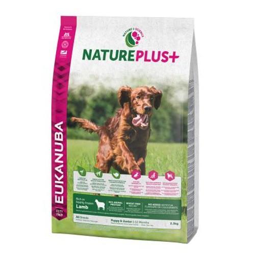 Eukanuba NaturePlus  Puppy&Junior Cordero