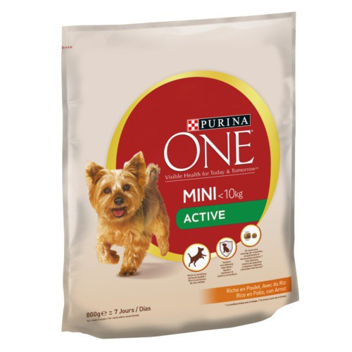 Pienso Purina One Mini Active Pollo y arroz