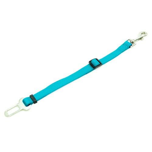 Adaptador cinturón de seguridad TK-Pet turquesa