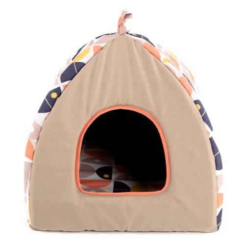 Cama iglú para perros y gatos TK-Pet Austin