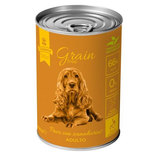 Criadores Grain Free húmedo Pavo & Zanahorias para perros