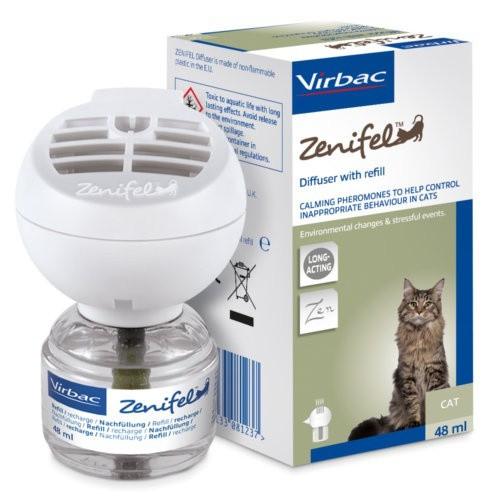 Zenifel Virbac Difusor de feromonas para gatos