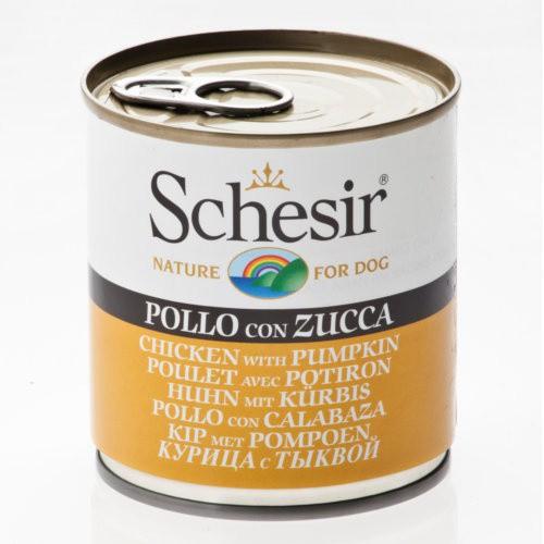 Comida húmeda Schesir pollo con calabaza