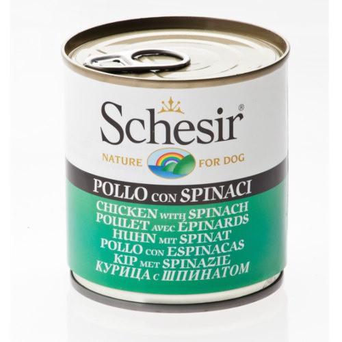 Comida húmeda Schesir pollo con espinacas