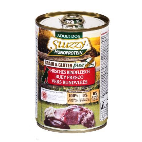 Comida húmeda Stuzzy Monoprotein buey fresco