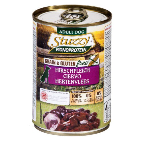 Comida húmeda Stuzzy Monoprotein ciervo
