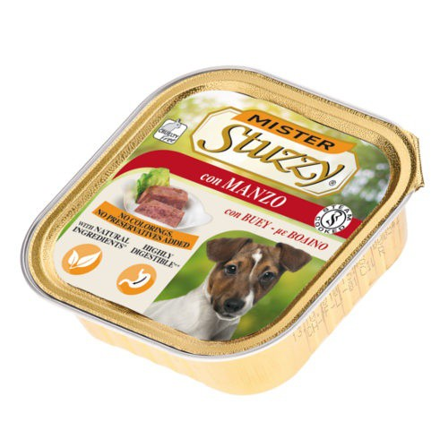 Comida húmeda para perros Mister Stuzzy buey