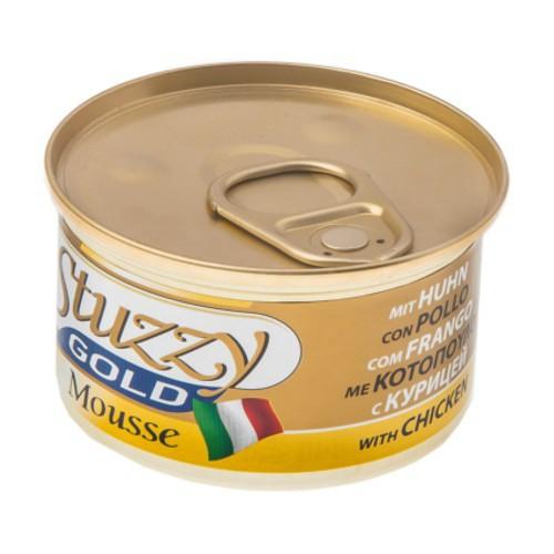 Comida húmeda Stuzzy Gold Mousse pollo con hígado