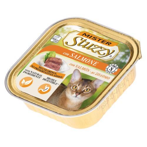 Comida húmeda para gatos Mister Stuzzy salmón